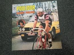 1977 Thème Vélo-cyclisme - POULIDOR Raconte POULIDOR Sur Des Illustrations Sonores D'Yvette HORNER (MERCKX-MOSER-MAGNE) - Discos De Vinilo