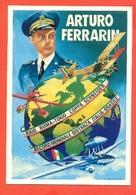 ARTURO FERRARINI-100° NASCITA MEDAGLIA ORO AL VALORE AERONAUTICO DI THIENE. E GUIDONIA- - AEREI - Aviatori