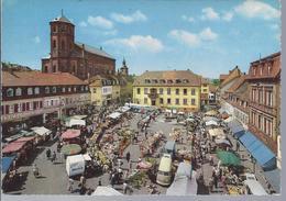 Homburg - Saar - Marktplatz  -   40558 - Saarpfalz-Kreis