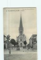 VILLENEUVE SUR ALLIER : Eglise. TBE. 2 Scans. Edition Loth - France