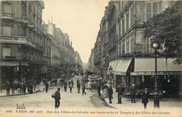 PARIS  Rue Des Filles Du Calvaire - Paris (03)