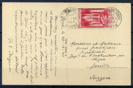 Vaticano 1940 Sass. 58 Cartolina 100% Stampa Cattolica, 75 Cent., Svizzera, Ginevra - Vaticano