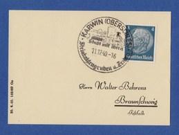 Deutsches Reich 1940 SoSt - KARWIN (OBERSCHLESIEN) - Deutschland