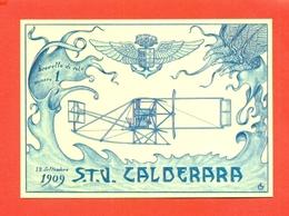 S.T.V. CALDERARA-CIRCUITO DI BRESCIA - AEREI - Aviatori