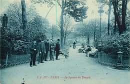 PARIS  Square  Du Temple - Arrondissement: 03
