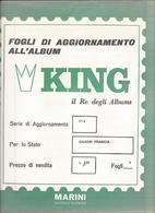 Francia Quadri, Opere D'Arte 1968, Fogli D'aggiornamento Con Taschine, Nuovi In Confezione Originale Ditta Marini. - Albums & Bindwerk