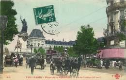 PARIS TOUT PARIS  PLACE DE LA REPUBLIQUE La Rue De Turbigo - Paris (03)