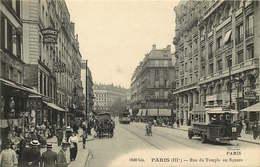 PARIS  Rue Du Temple - Paris (03)