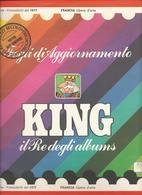 Francia Quadri, Opere D'Arte 1977, Fogli D'aggiornamento Con Taschine, Nuovi In Confezione Originale Ditta Marini. - Album & Raccoglitori