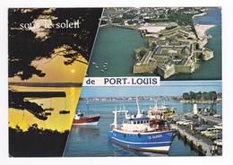 56 Port Louis N°5 En 1984 Bateau De Pêche Citroën GS - Port Louis