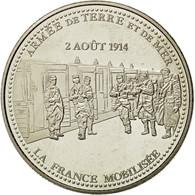 France, Médaille, Première Guerre Mondiale, La France Mobilisée, FDC - France
