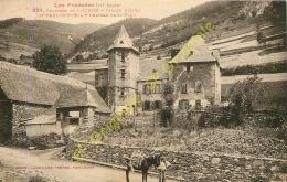 31. SAINT PAUL D'OUEIL . Château . Environs De LUCHON .   CPA LABOUCHE FRERES TOULOUSE . - Autres Communes