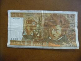 10 FRANCS BERLIOZ @ Alphabet Recherché M 283 Du 05 Janvier 1976 @ Billet Français N° F63 17a - 1962-1997 ''Francs''