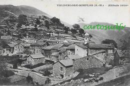 06 VALDEBLORE-RIMPLAS VUE GENERALE - Autres Communes