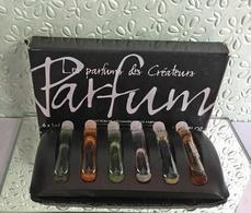 Anciens Échantillons De Collection LE PARFUM DES CRÉATEURS Dans Leur Boîte 1 Ml X 6  (M076) - Echantillons (tubes Sur Carte)
