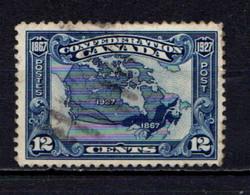 CANADA    1927    60th  Anniv  Of  Confederation    12c  Blue    USED - Unused Stamps