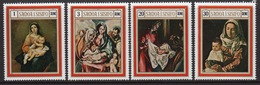 Samoa Set Of Stamps From 1969 To Celebrate Christmas. - Samoa