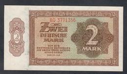 GERMANIA GERMANY Democratic Republic 2 Mark 1948 Q.fds  LOTTO 2014 - 2 Deutsche Mark