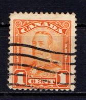 CANADA    1928     1c  Orange    USED - Unused Stamps