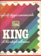 SMOM 1984, Fogli D'aggiornamento Con Taschine, Nuovi In Confezione Originale Ditta Marini. - Album & Raccoglitori