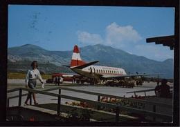 Croatia - Dubrovnik, Airport Čilipi - Austrian Airlines, Year 1972 - Croatia