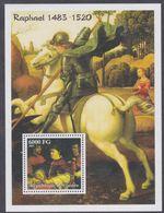 Guinée BF N° 213 XX Détail De Tableau Du Peintre Raphaël,  Le Bloc Sans Charnière, TB - Guinea (1958-...)