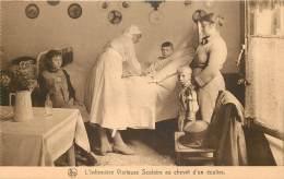 Ass. Infirmières Visiteuses 35 Rue Caroly : Au Chevet D'un écolier - Santé