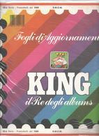 SMOM 1989, Fogli D'aggiornamento Con Taschine, Nuovi In Confezione Originale Ditta Marini. - Albums & Bindwerk