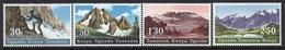 Kenya, Uganda & Tanganyika Set Of Stamps Issued In 1968 To Celebrate Mountains Of East Africa. - Kenya, Uganda & Tanganyika
