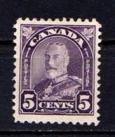 CANADA    1930     5c  Violet    MH - Unused Stamps