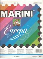 SMOM 1992, Fogli D'aggiornamento Con Taschine, Nuovi In Confezione Originale Ditta Marini. - Albums & Bindwerk