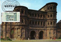 "BRD Maximumkarte ""2000 Jahre Stadt Trier"" Mi-Nr. 1197 ESSt. 12.1.1984 BONN 1 - Cartas Máxima"
