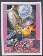 Guinée BF N° 266 XX Espace : Télescpe Spatial Corot, Le Bloc Sans Charnière, TB - Guinea (1958-...)
