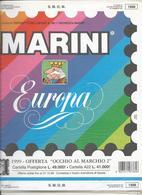 SMOM 1998, Fogli D'aggiornamento Con Taschine, Nuovi In Confezione Originale Ditta Marini. - Album & Raccoglitori