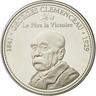 France, Médaille, Première Guerre Mondiale, Georges Clémenceau, FDC - France