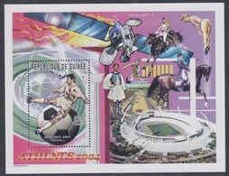 Guinée BF N° 267 XX Jeux Olympiques D'été à Athènes, Le Bloc Sans Charnière, TB - Guinea (1958-...)