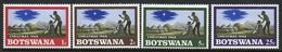 Botswana Set Of Stamps From 1968 To Celebrate Christmas. - Botswana (1966-...)