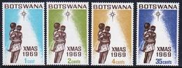 Botswana Set Of Stamps From 1969 To Celebrate Christmas. - Botswana (1966-...)