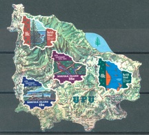 NORFOLK ISLAND - USED/OBLIT. - 1974 - UPU - Yv BLOC 1 ASC 164ms - Lot 17518 - Ile Norfolk