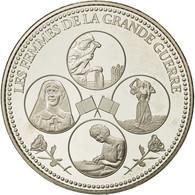 France, Médaille, Première Guerre Mondiale, Les Femmes Dans La Grande Guerre - France