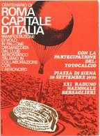ITALIA - 1970 - TRASPORTO SPECIALE CON AEROSTATO TOTOCALCIO - AERONORD PIAZZA DI SIENA - ROMA - 1961-70: Storia Postale