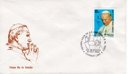 PERU - 1988 The 2nd Visit Of Pope John Paul II  FDC5540 - Peru