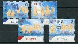 """St. Helena - Mi.Nr. 961 / 964 - """"50 Jahre Europamarken"""" ** / MNH - St. Helena"""