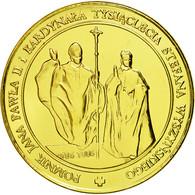 Pologne, Médaille, Sanctuaire Maryjne, Swieta Lipka, FDC, Copper Gilt - Tokens & Medals