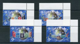 "Samoa - Mi.Nr. 1020 / 1023 - ""50 Jahre Europamarken"" ** / MNH - Samoa"