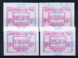 Belgio 1990 Mi. 24 Nuovo ** 100% Automatici - Postage Labels