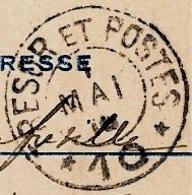 Cachet TRESOR ET POSTES De Mai 1916 Sur Carte En Franchise Militaire - 1. Weltkrieg 1914-1918