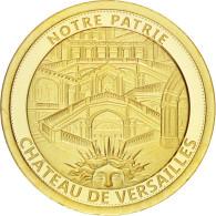 France, Médaille, Le Château De Versailles, 2017, FDC, Or - France