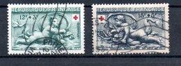 Croix Rouge  / N 937 Et 98/  Oblitérés / Côte 12 € - Croix-Rouge