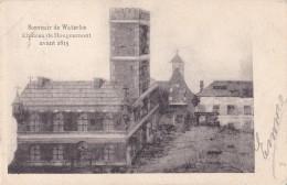 Souvenir De Waterloo Château De Hougoumont Avant 1815 Circulée En 1904 - Waterloo